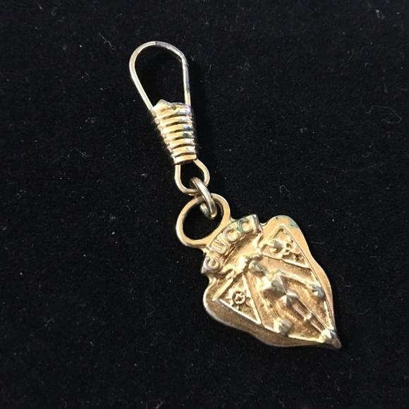 329f89e914f4f5 Gucci Jewelry | Vintage Gold Zipper Pull Knight Charm | Poshmark